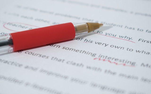 copy edit document
